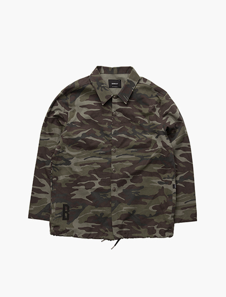 (예약발송) B CAMO SHIRTS JACKET - CAMO brownbreath