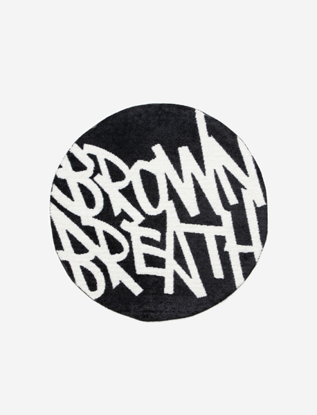 TAGGING MAT - BLACK brownbreath