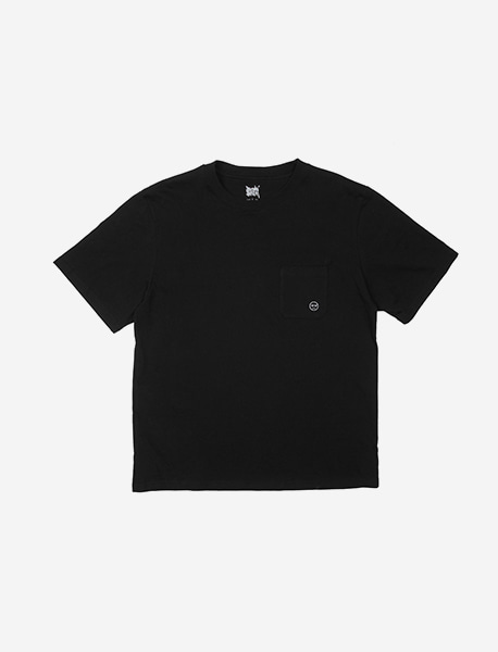 BB POCKET TEE - BLACK brownbreath