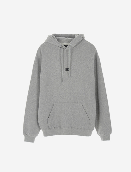 BEGINS HOODIE - GREY brownbreath