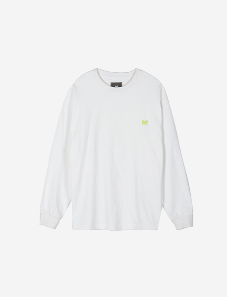 TAG LONGSLEEVE - WHITE brownbreath