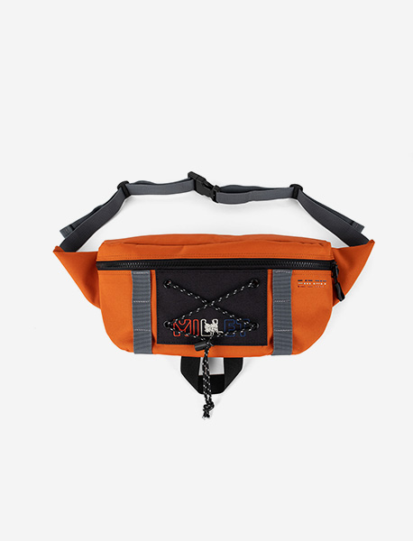 BXM REFUGE WAISTBAG - ORANGE brownbreath