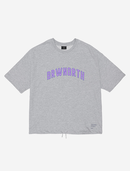 BRWN TEE - GREY brownbreath