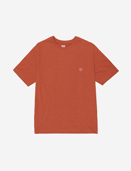 BB CIRCLE TEE - ORANGE brownbreath