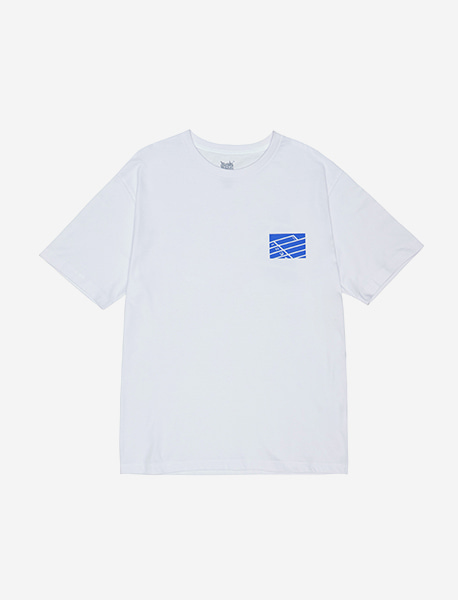 CANT WIN TEE - WHITE brownbreath