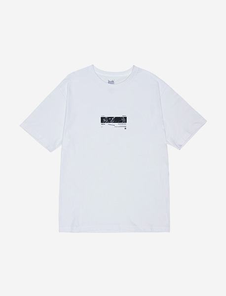 UNCLASSFIED TEE - WHITE brownbreath
