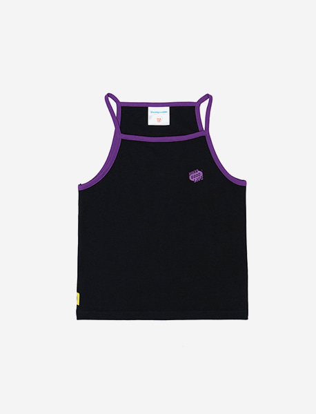 DGL GIRLS SLEEVELESS - BLACK brownbreath