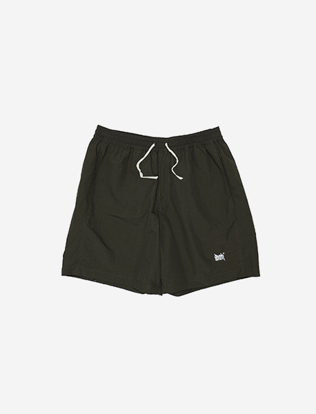 TAG SHORT PANTS - KHAKI brownbreath