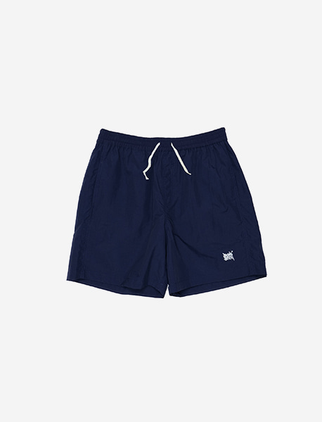 TAG SHORT PANTS - NAVY brownbreath