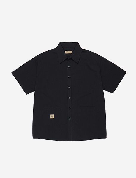 NGRD POCKET SHIRTS - BLACK brownbreath