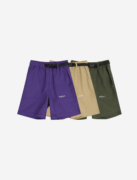 [KIDS] MESS AGE SHORT PANTS - 3 colors brownbreath