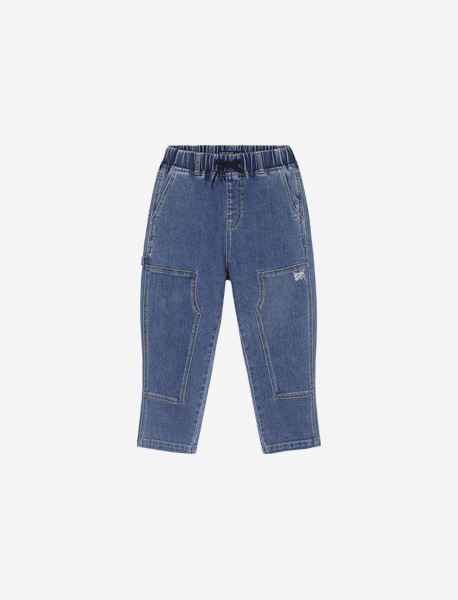 [KIDS] SPRD CAPENTER JEAN - BLUE brownbreath