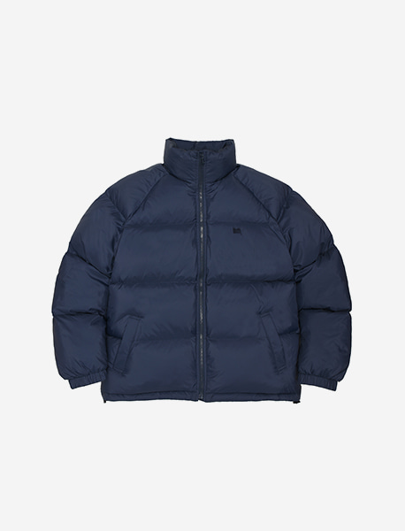 TAG SHORT DOWN PUFFER - NAVY brownbreath