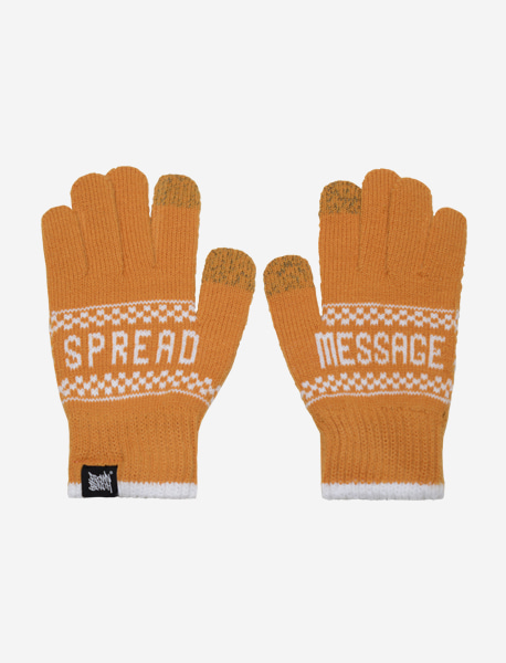 STM GLOVE - MUSTARD brownbreath