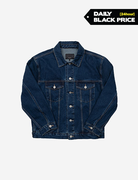 NGRD DENIM JACKET - INDIGO brownbreath