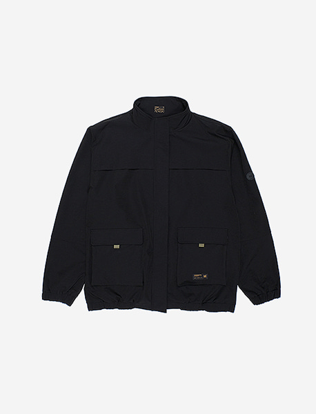 DEFS UTILITY BLOUSON - BLACK brownbreath