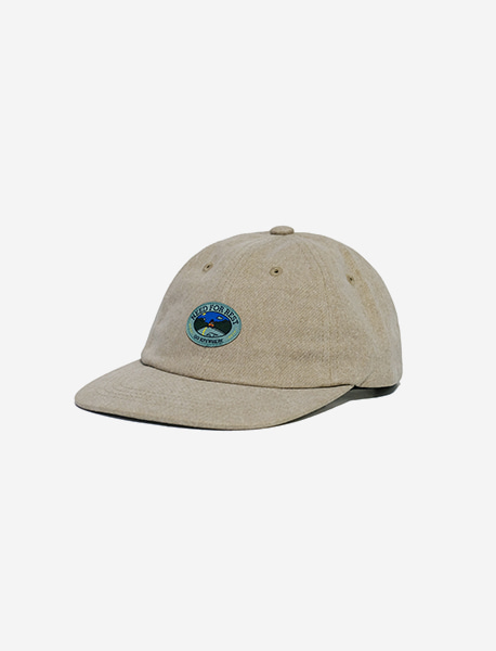 REST PIGMENT CAP - BEIGE brownbreath