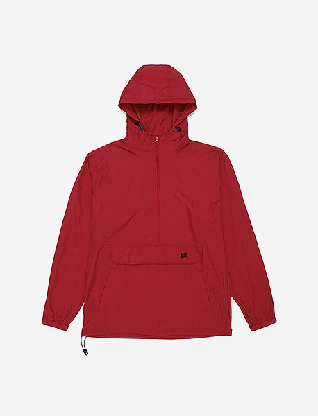 BB ANORAK - BURGUNDY brownbreath