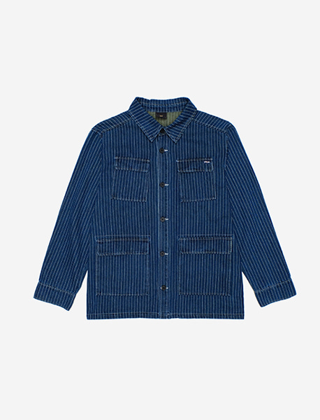 KEEP UTILITY SHIRTS - BLUE brownbreath
