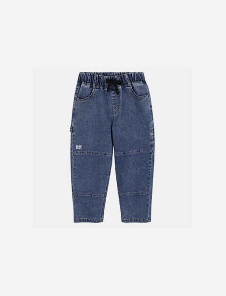[KIDS] CARPENTER DENIM - BLUE brownbreath