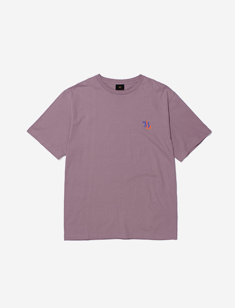 STEADY PACE TEE - PURPLE brownbreath