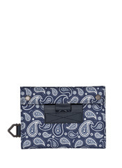 MAVEN DAILY CASE - NAVY PAISLEY brownbreath