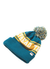 STM BELL BEANIE - GREEN brownbreath