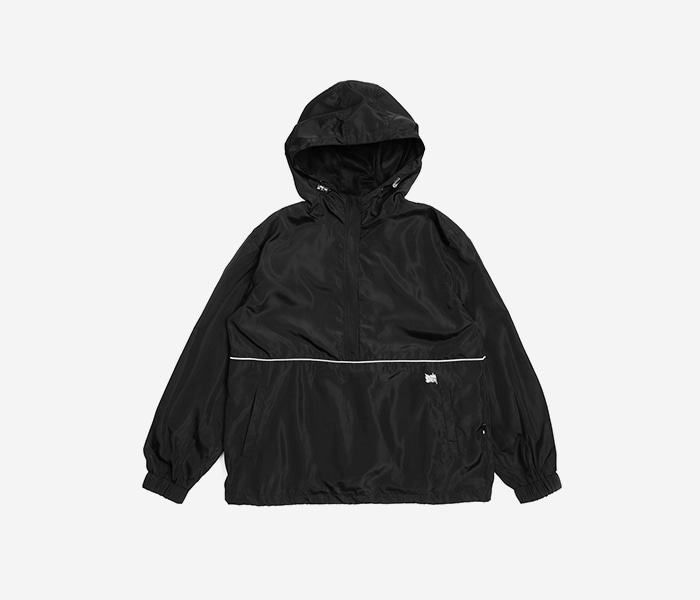 TAG ANORAK - BLACK brownbreath