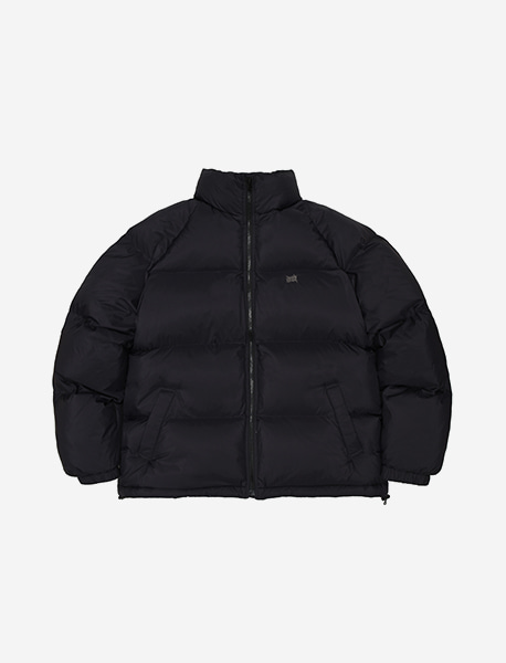 [10/13 예약발송] TAG SHORT DOWN PUFFER - BLACK brownbreath