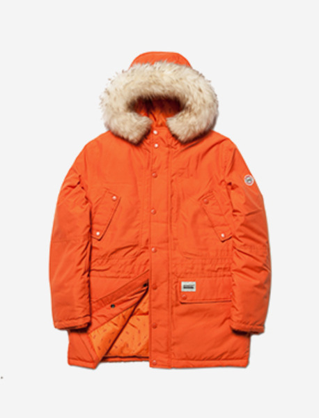 TETRA PARKA - ORANGE brownbreath