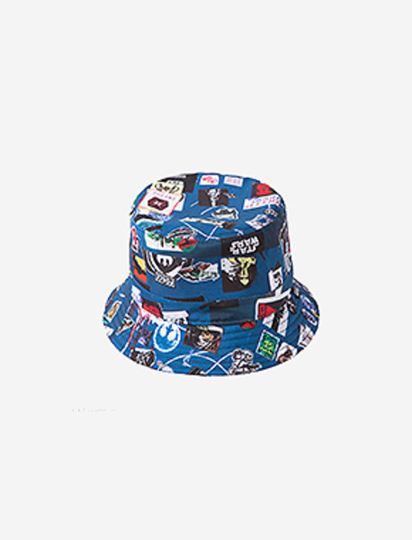 EP6. BRWN X STAR WARS STICKERS BUCKET HAT brownbreath