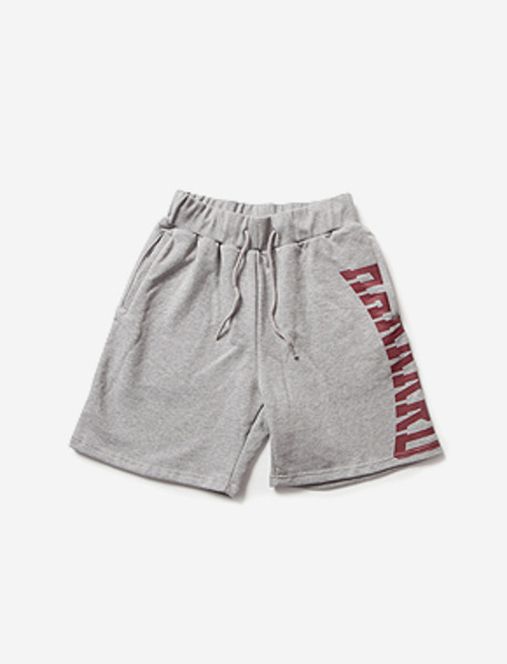 HARD SWEAT SHORTS brownbreath