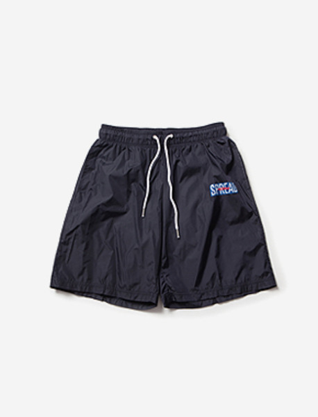 SPREAD JOGGING SHORTS brownbreath