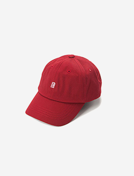 B BASEBALL CAP - BURGUNDY brownbreath