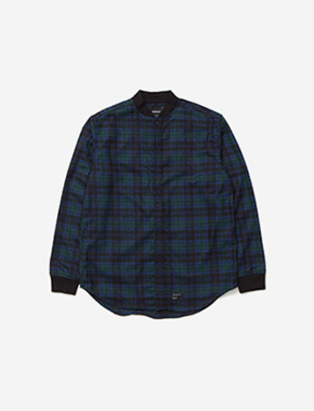 B MOVE RIB SHIRT - GREEN brownbreath