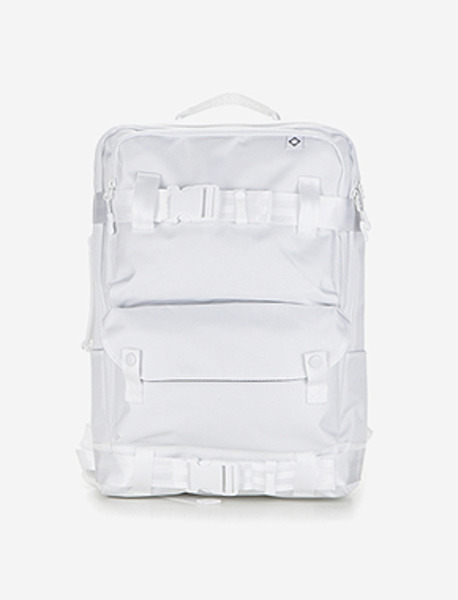 C020 DEFINITION BACKPACK - WHITE brownbreath