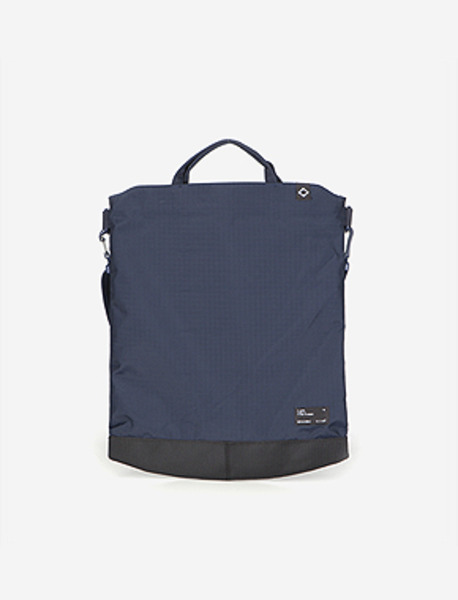 N050 CIVITAS S.TOTE BAG - NAVY brownbreath