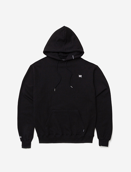 TAGGING HOODIE - BLACK brownbreath
