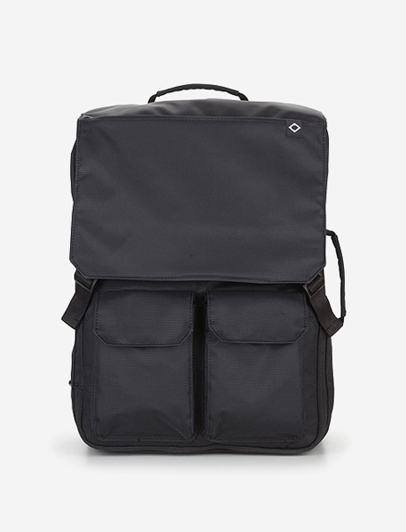 C030 NOMAD TRAVEL BACKPACK - BLACK brownbreath