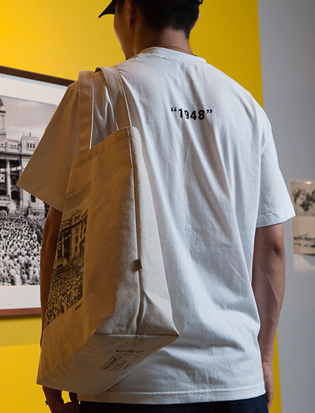 1948 TEE - WHITE brownbreath