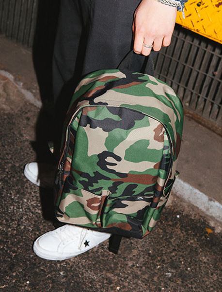 N023 MOTIVE DAYBAG - CAMO brownbreath