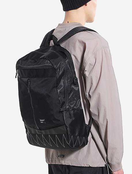 COMBINE BACKPACK - BLACK brownbreath