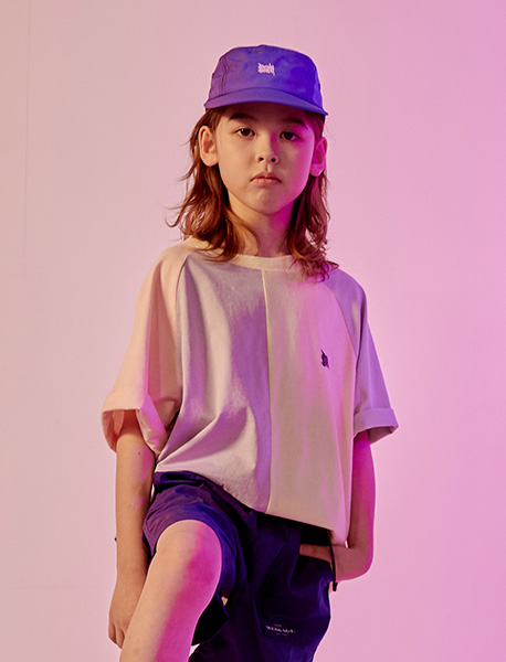 [KIDS] TAG TEE - MULTI brownbreath