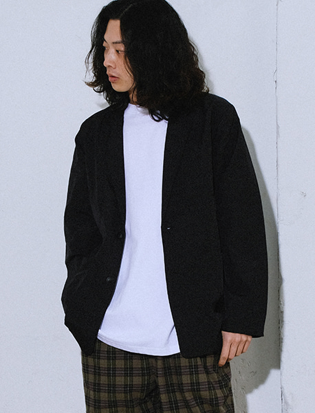 NGRD SINGLE JACKET - BLACK brownbreath