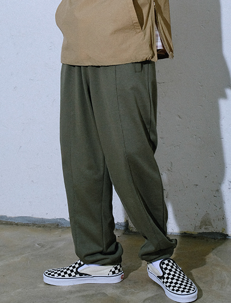 SPRD SWEAT PANTS - KHAKI brownbreath