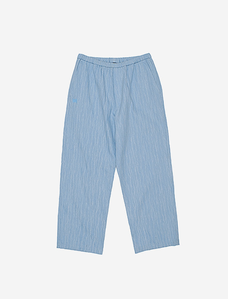 TAG DAMAGED DENIM PANTS - LIGHT BLUE brownbreath