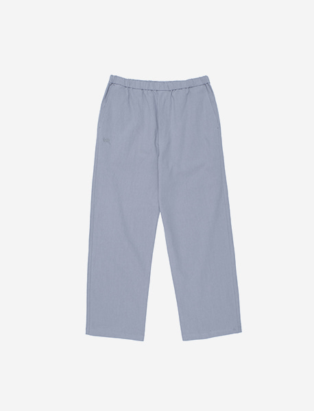 TAG STRING PANTS - LIGHT BLUE brownbreath