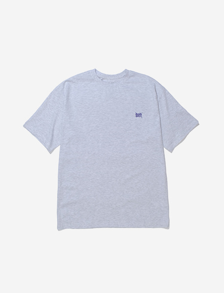 TAG SPRAY TEE - ASH brownbreath