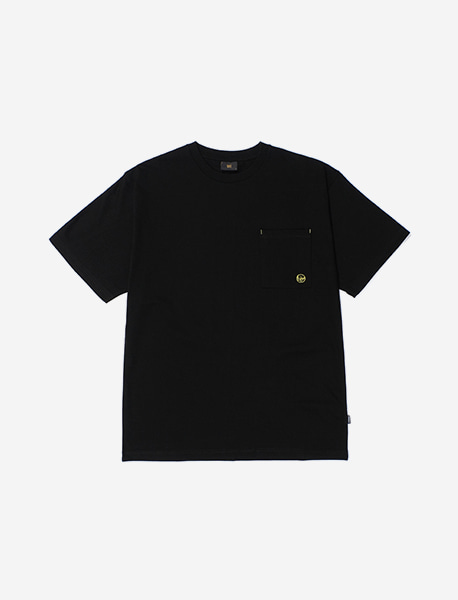RAGE POCKET TEE - BLACK brownbreath