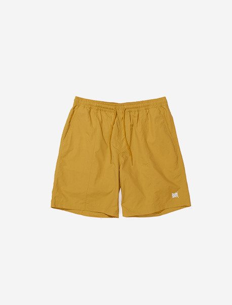 TAG RB SHORT PANTS - MUSTARD brownbreath